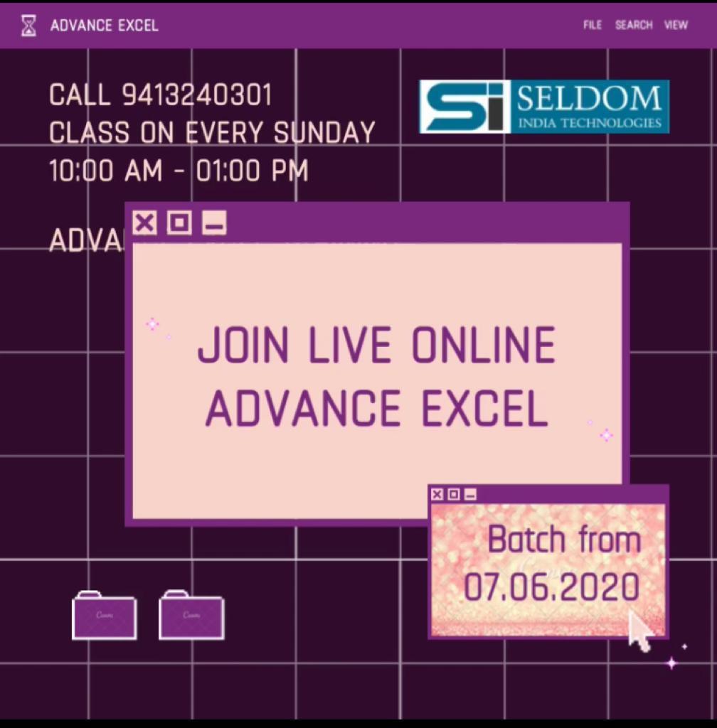Advance Excel Training Workshop