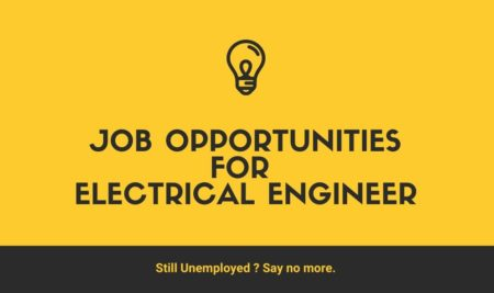 Job Opportunities for Electrical Engineer