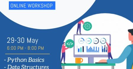 29 – 30 May Python for Data Science Workshop