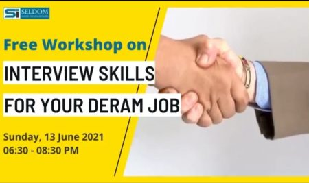 13 June Interview Skill for your dream job worskhop certificate