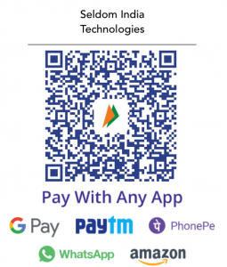 Seldom India Pay Online QR Code